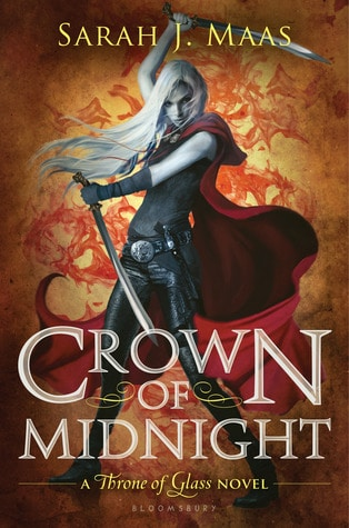 Crown of Midnight Book Cover Sarah J Maas February TBR 2019 Throne of Glass Sequel Book Review Book Blog Book reviewer